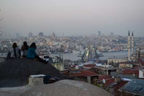 Istanbul's rooftop